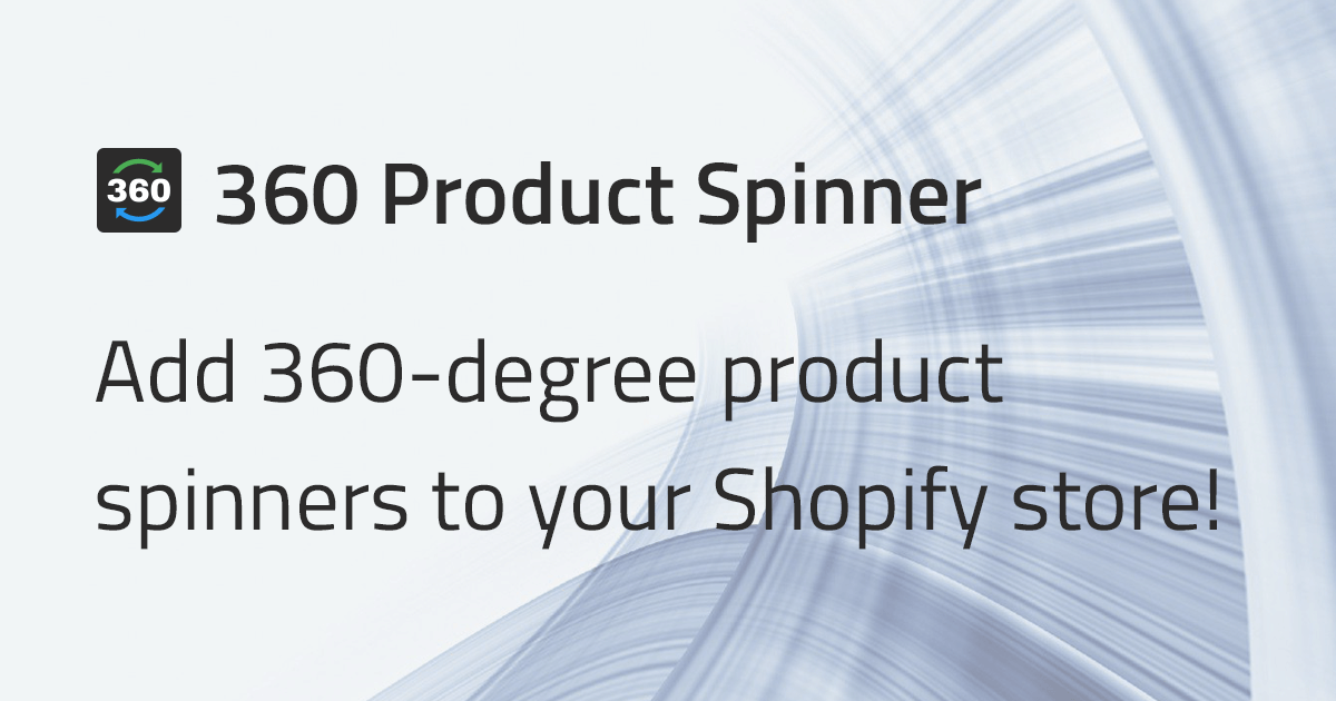 360 Product Spinner