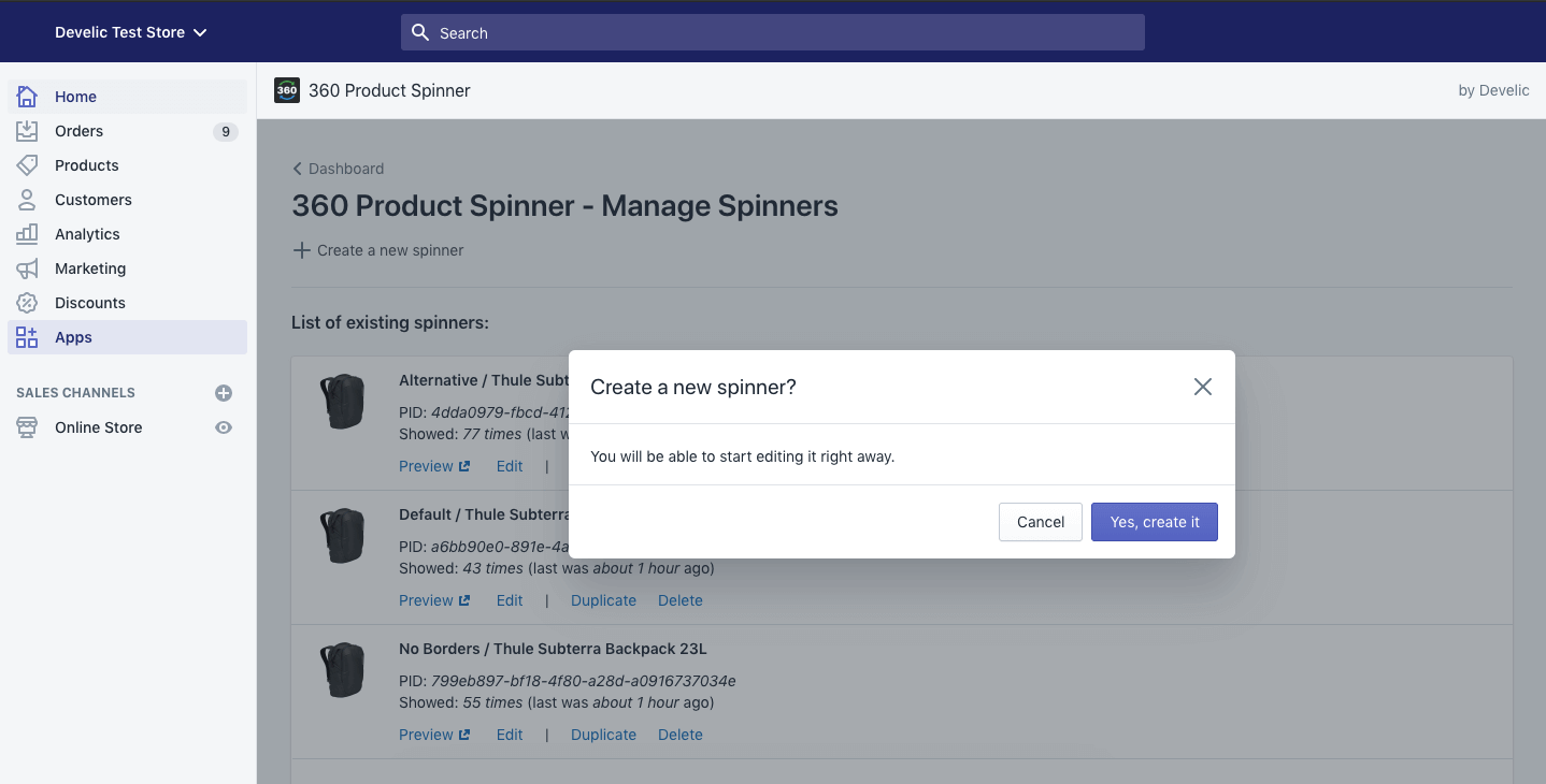 360 Product Spinner, help b